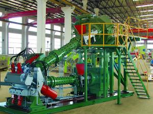 Rubber Extrusion Machine