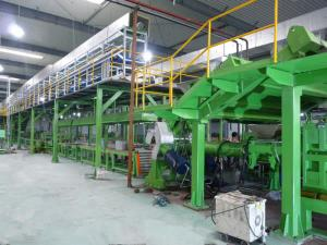 Treads and Sidewalls Extrusion Line